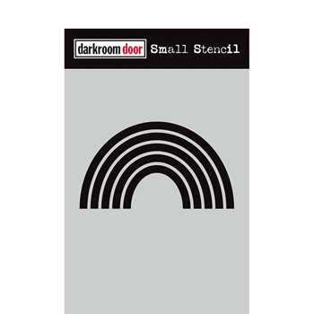 Darkroom Door RAINBOW Small Stencil ddss042