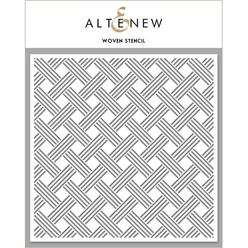 Altenew WOVEN Stencil ALT4477 Preview Image