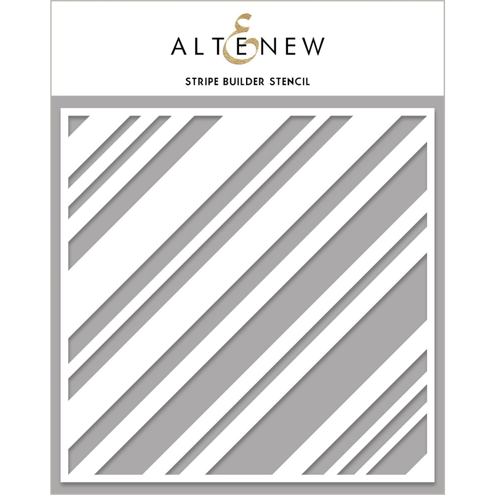 Altenew STRIPE BUILDER Stencil ALT4476 zoom image
