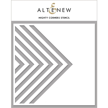 Altenew MIGHTY CORNERS Stencil ALT4473
