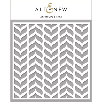 Altenew LEAF DROPS Stencil ALT4472