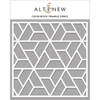 Altenew COLOR BLOCK TRIANGLE Stencil ALT4470