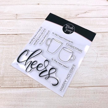 ModaScrap Clear Stamps CHEERS mstc1046