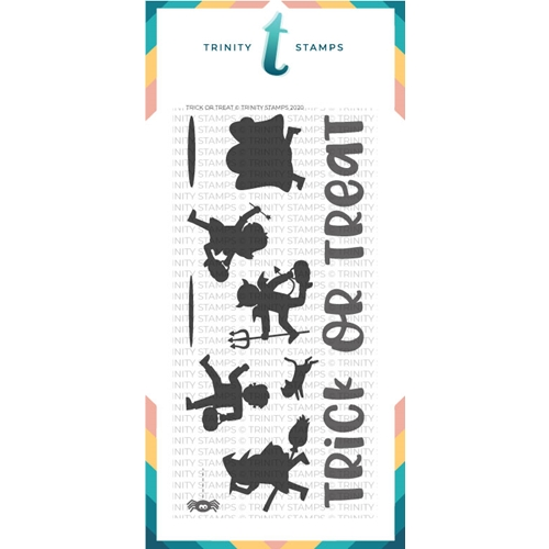 Trinity Stamps TRICK OR TREAT Clear Stamp Set tps071 Preview Image