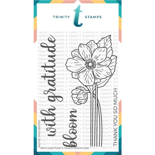 Trinity Stamps WITH GRATITUDE Clear Stamp Set tps074* Preview Image