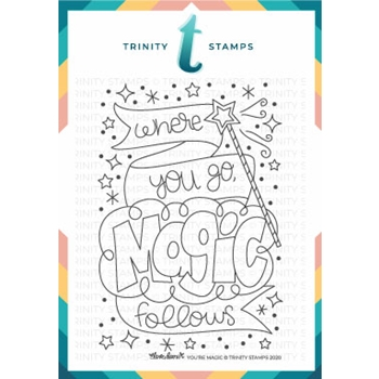Trinity Stamps YOU'RE MAGIC Clear Stamp Set tps081