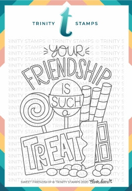 Trinity Stamps SWEET FRIENDSHIP Clear Stamp Set tps082* Preview Image