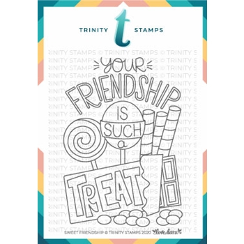 Trinity Stamps SWEET FRIENDSHIP Clear Stamp Set tps082