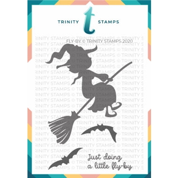 Trinity Stamps FLY BY Clear Stamp Set tps083