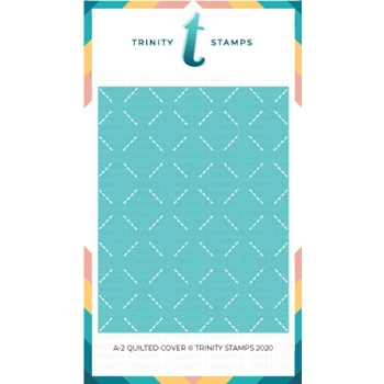 Trinity Stamps A2 COVERPLATE QUILTED COVER Die Set tcp002