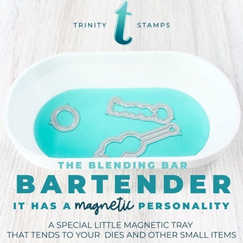 RESERVE Trinity Stamps BARTENDER MAGNETIC TRAY tbb006