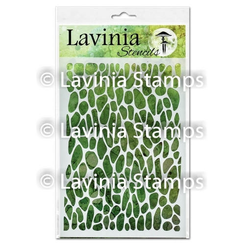 Lavinia Stamps CRACKLE Stencil ST004 Preview Image