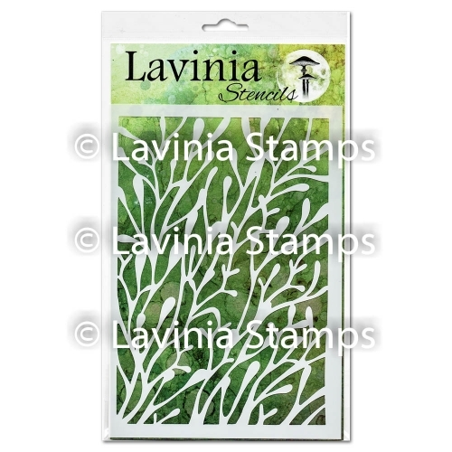 Lavinia Stamps CORAL Stencil ST003 Preview Image