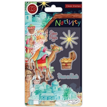 Craft Consortium Nativity BETHLEHEM Clear Stamps CCSTMP049