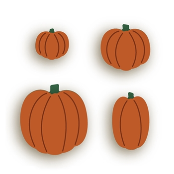 RESERVE Honey Bee ITTY BITTY PUMPKINS Dies hbdsitbp