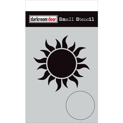 Darkroom Door SUN Small Stencil ddss039 Preview Image
