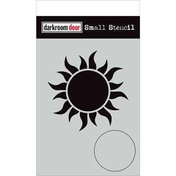 Darkroom Door SUN Small Stencil ddss039