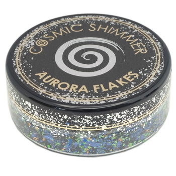 Cosmic Shimmer ENCHANTED FOREST Aurora Flakes csafforest