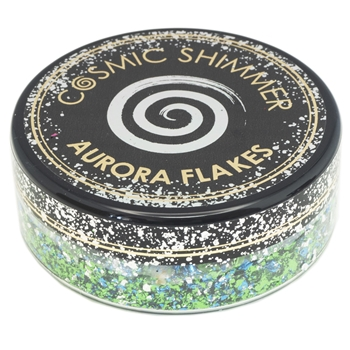 Cosmic Shimmer ICY LAGOON Aurora Flakes csaflag