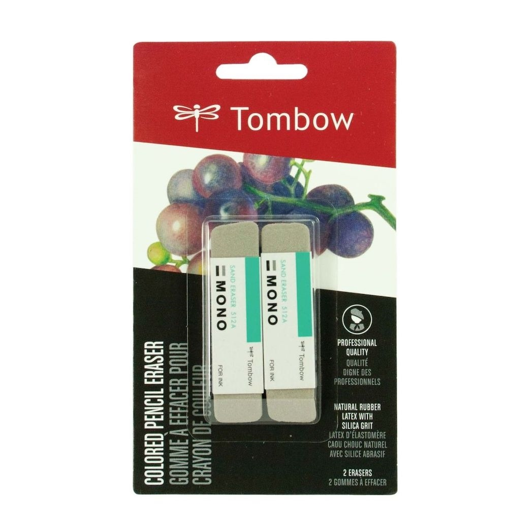 Tombow 2 PACK SAND ERASER Tool 67304 zoom image