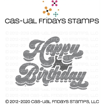 CAS-ual Fridays BIRTHDAY Fri-Dies Dies cfd2001