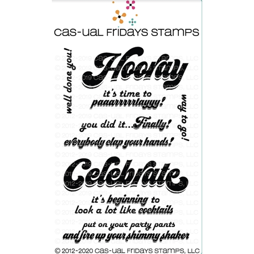 CAS-ual Fridays SASSY CELEBRATION Clear Stamps cfs2011* Preview Image