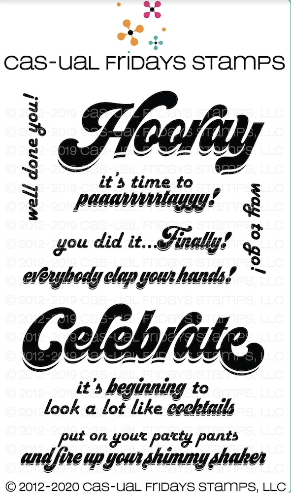 CAS-ual Fridays SASSY CELEBRATION Clear Stamps cfs2011* zoom image