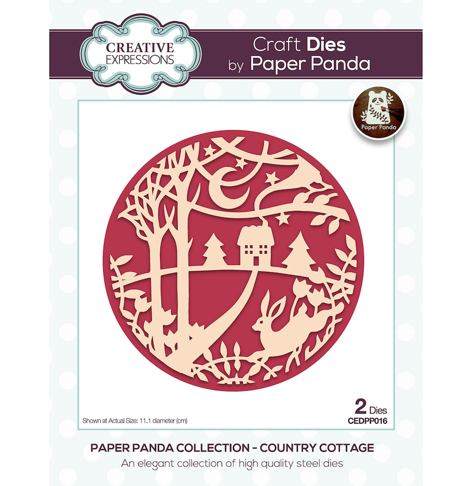 Creative Expressions COUNTRY COTTAGE Craft Dies cedpp016 zoom image