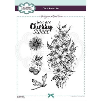 Creative Expressions SWEET CHERRY Clear Stamps umsdb035