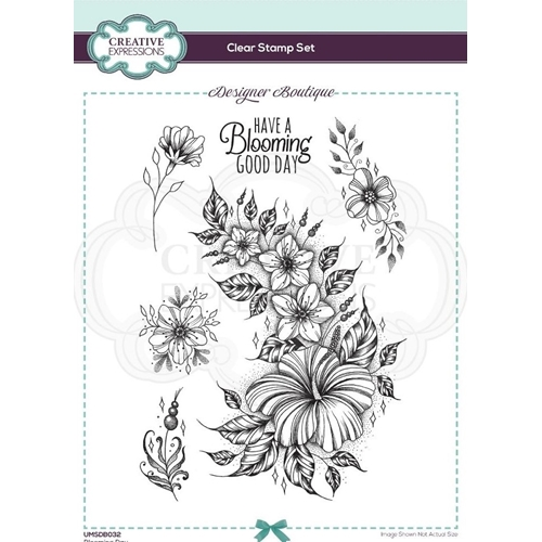 Creative Expressions BLOOMING DAY Clear Stamps umsdb032 Preview Image