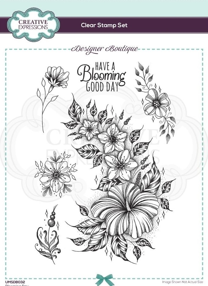 Creative Expressions BLOOMING DAY Clear Stamps umsdb032 zoom image