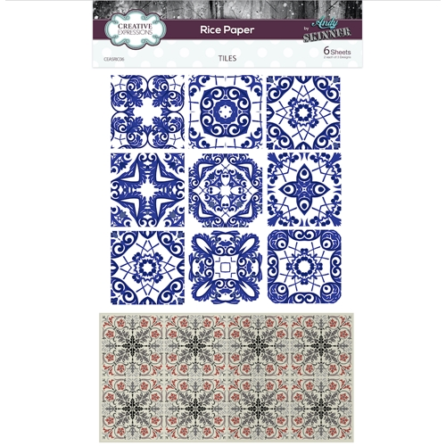 Creative Expressions TILES Rice Paper ceasric06 Preview Image
