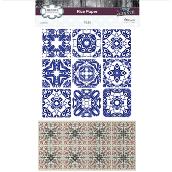 Creative Expressions TILES Rice Paper ceasric06