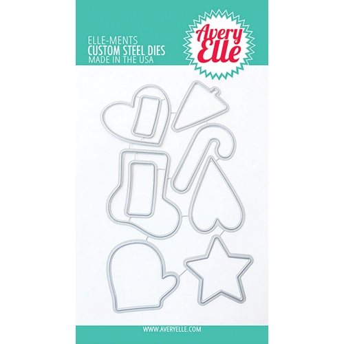 Avery Elle Steel Dies CHRISTMAS COOKIES D-20-39 Preview Image