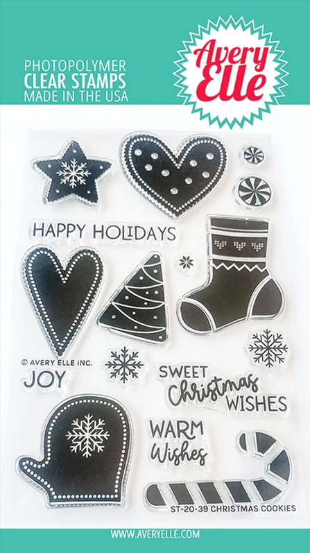 Avery Elle Clear Stamps CHRISTMAS COOKIES ST-20-39 zoom image