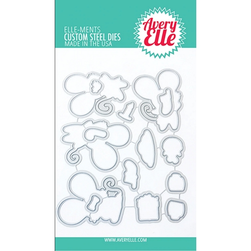 Avery Elle Steel Dies CHRISTMAS MICE D-20-29 Preview Image