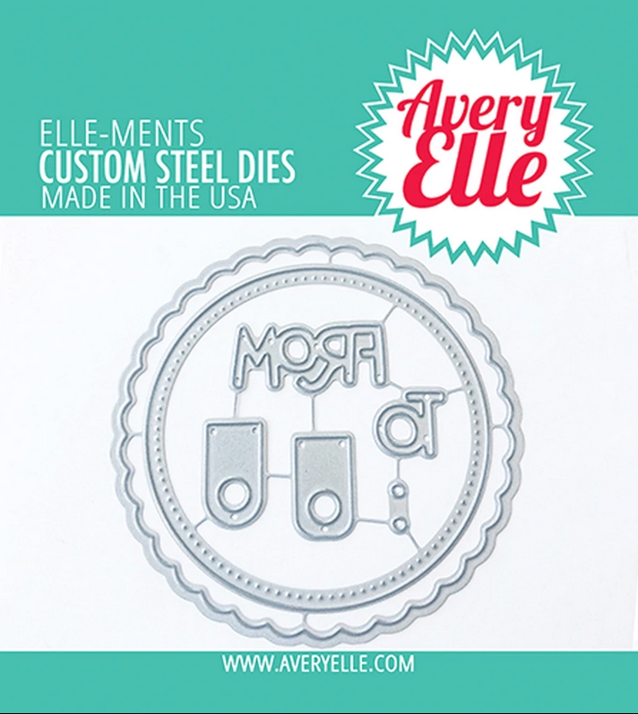 Avery Elle Steel Dies HOLIDAY CIRCLE TAGS D-20-27 zoom image