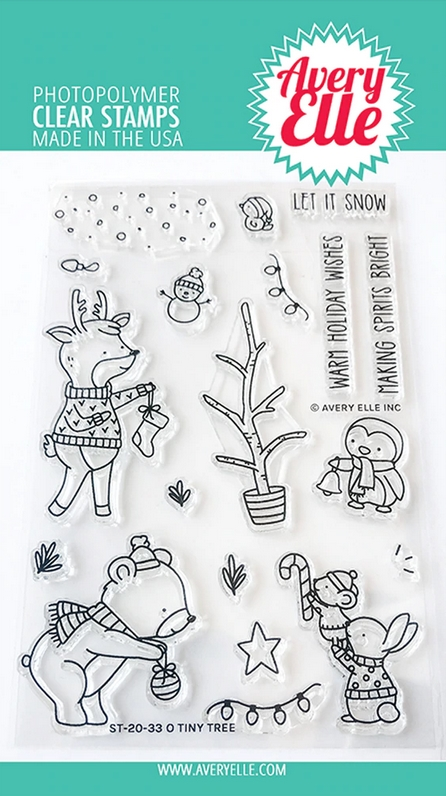 Avery Elle Clear Stamps O TINY TREE ST-20-33 zoom image
