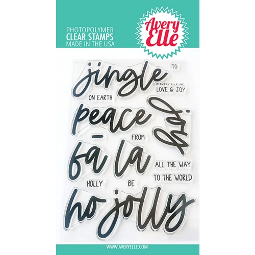 Avery Elle Clear Stamps JINGLE ST-20-26 Preview Image