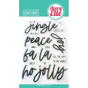 Avery Elle Clear Stamps JINGLE ST-20-26