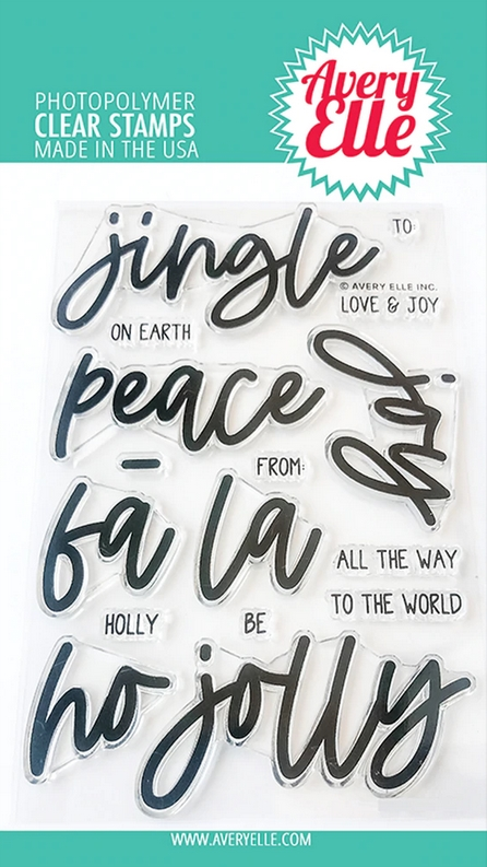 Avery Elle Clear Stamps JINGLE ST-20-26 zoom image