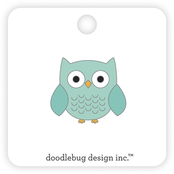 Doodlebug OWLBERT Collectible Enamel Pin 6982