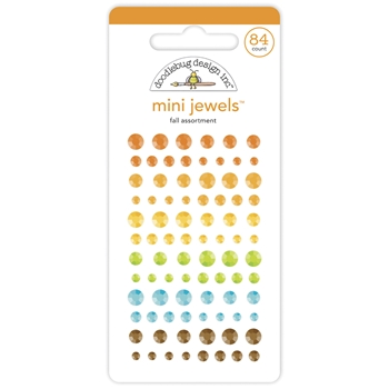 Doodlebug FALL ASSORTMENT Mini Jewels 6946