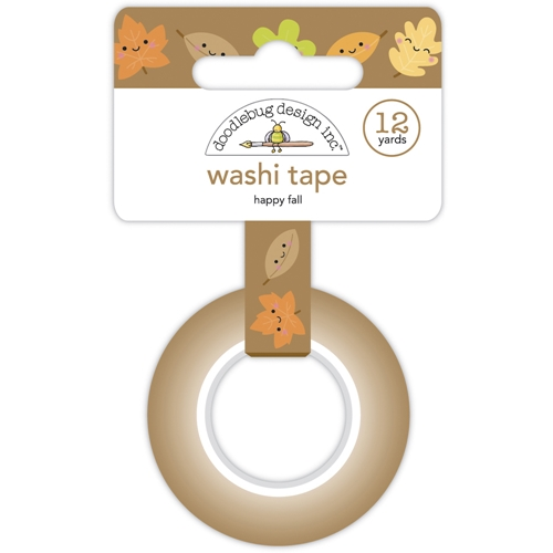 Doodlebug HAPPY FALL Washi Tape Pumpkin Spice 6927 Preview Image