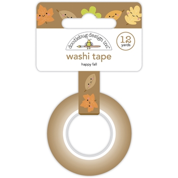 Doodlebug HAPPY FALL Washi Tape Pumpkin Spice 6927