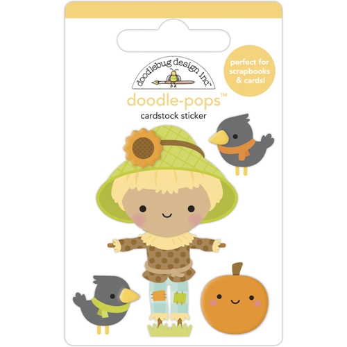 Doodlebug HAY THERE Doodle Pops 3D Stickers 6952 Preview Image