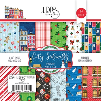 LDRS Creative CITY SIDEWALKS 6 x 6 Paper Pad 3264