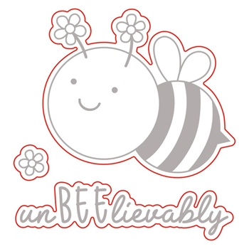 Honey Bee UNBEELIEVABLE Die Set hbds244