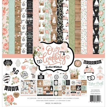Echo Park OUR WEDDING 12 x 12 Collection Kit ow224016