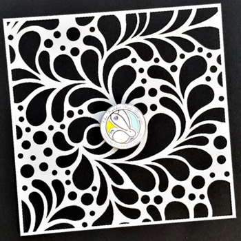 The Rabbit Hole Designs SPLISH SPLASH Stencil TRH020S